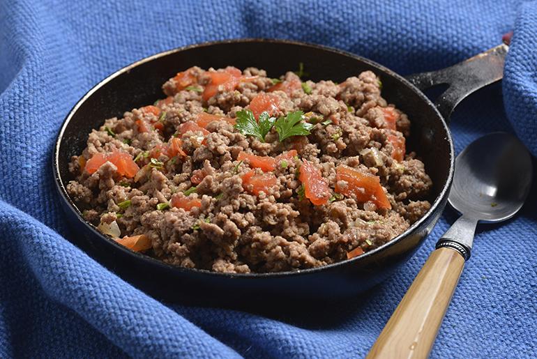 Temperos nordestinos dão sabor especial à carne moída