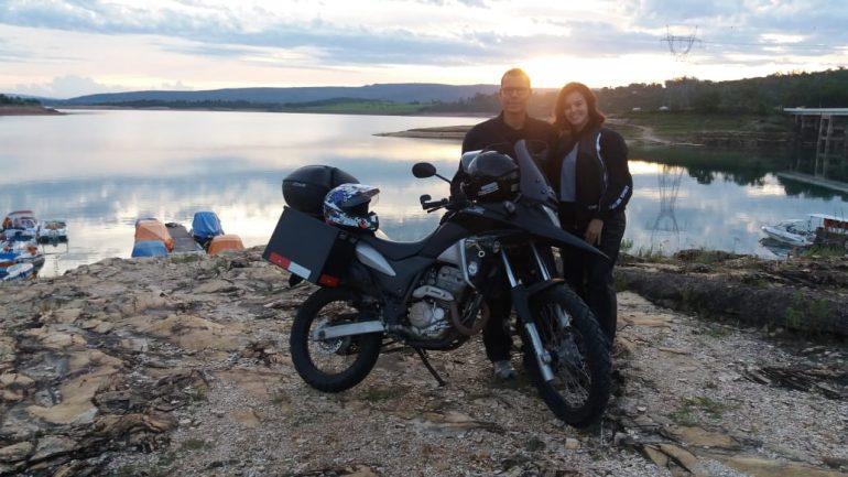 Casal sobre duas rodas: De Minas ao Paraná