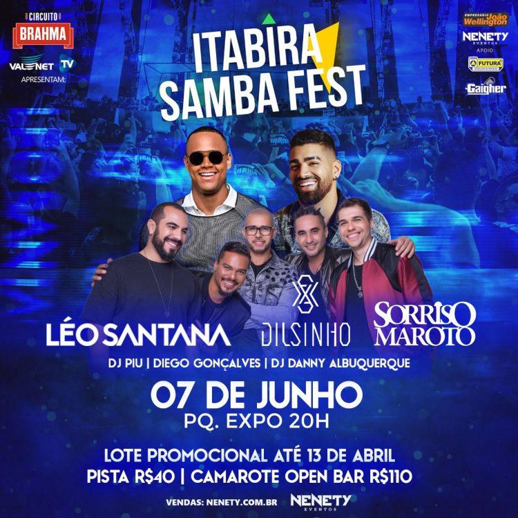 Show de Léo Santana muda de data e ganha companhia de Dilsinho e Sorriso Maroto