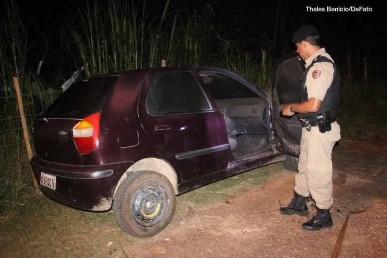 Carro usado em tentativa de homicídio é encontrado pela polícia em Itabira