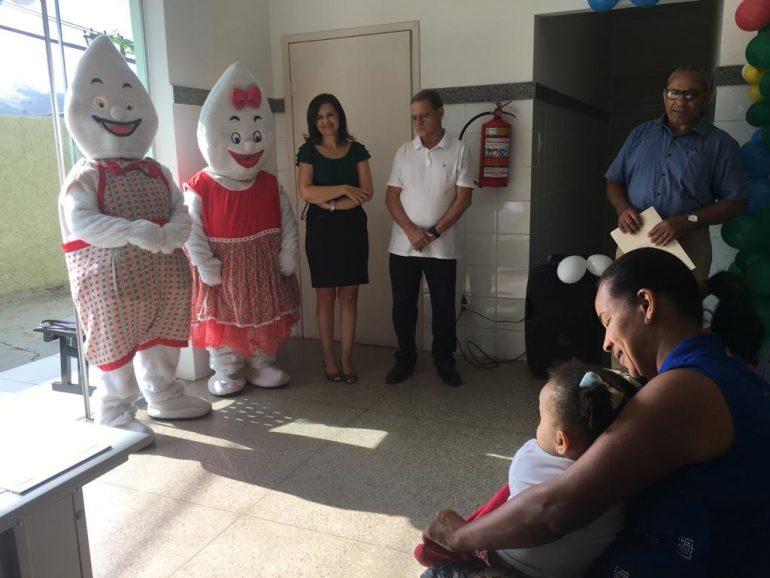 Itabira tem abertura do Dia D da vacinação contra a gripe