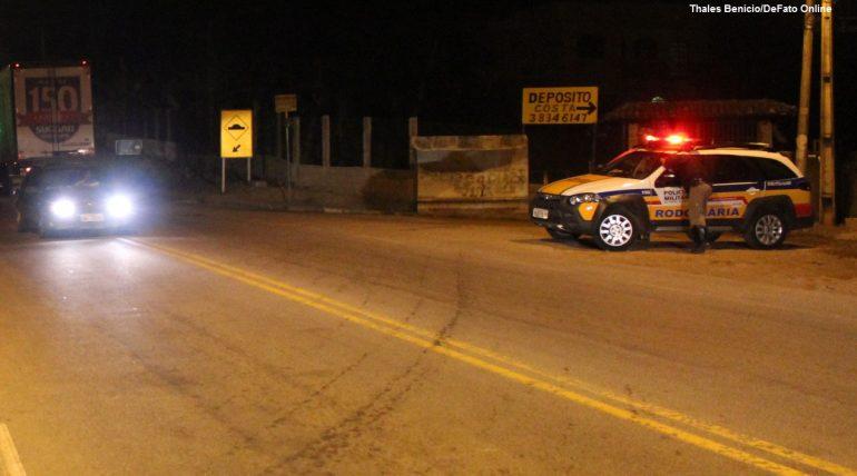 Motorista embriagado é preso em Operação da Lei Seca na MG-129