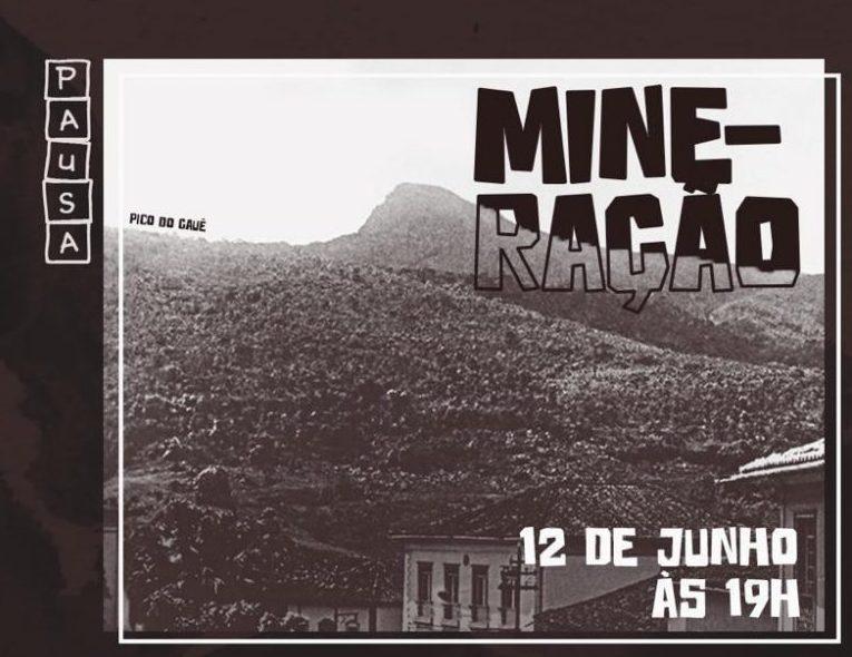 Projeto da Unifei discute impactos da mineração nesta quarta-feira
