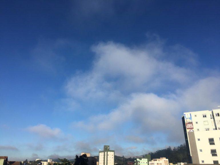 Confira a previsão do tempo par Itabira e região nesta sexta-feira