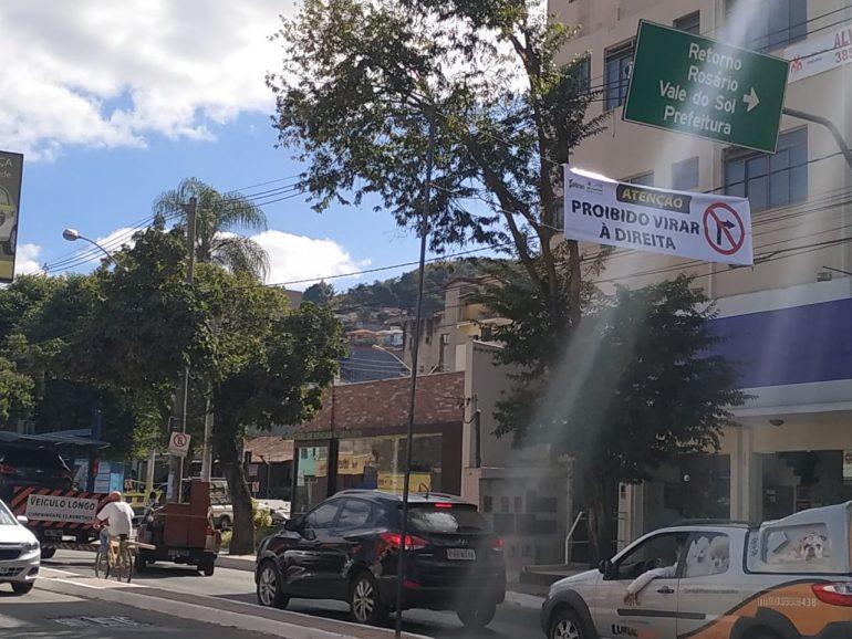 Novo Centro: Rua Neném do Lindinho e parte da Fernão Dias têm trânsito invertido em João Monlevade