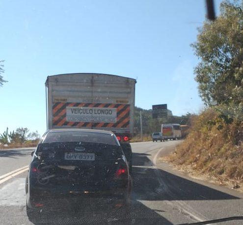 Com congestionamentos de até 5 Km, tráfego na BR-381 segue intenso neste sábado