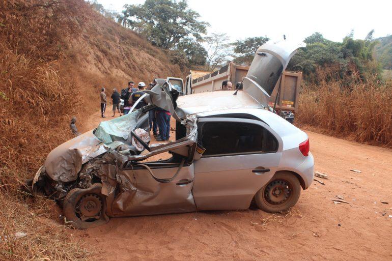 Jovem vítima de acidente em Santa Maria de Itabira não resiste a ferimentos e morre no hospital