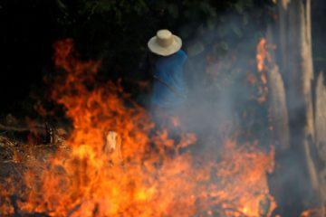 Bolsonaro autoriza uso das Forças Armadas contra incêndios na Amazônia