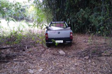PM recupera caminhonete e cofre furtados em Itabira