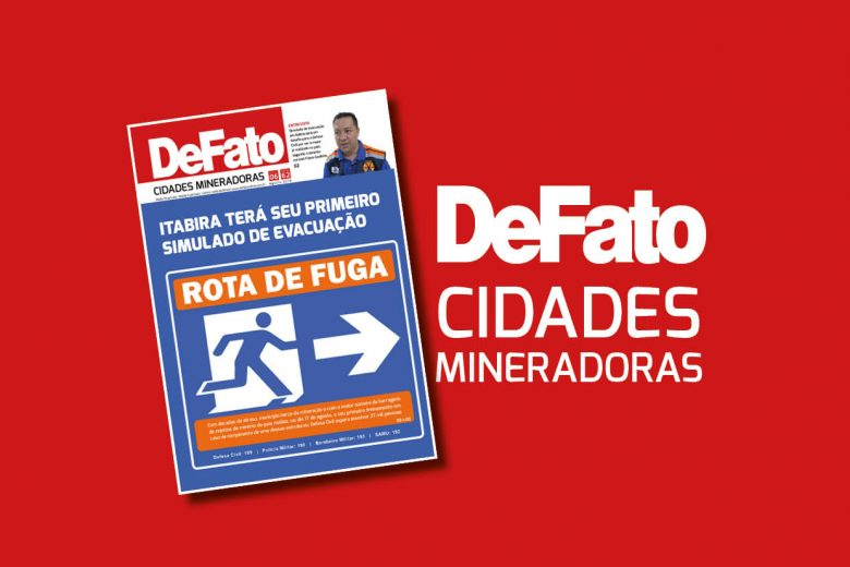 """""""DeFato Cidades Mineradoras"""" destaca o 1º simulado de evacuação de Itabira"""