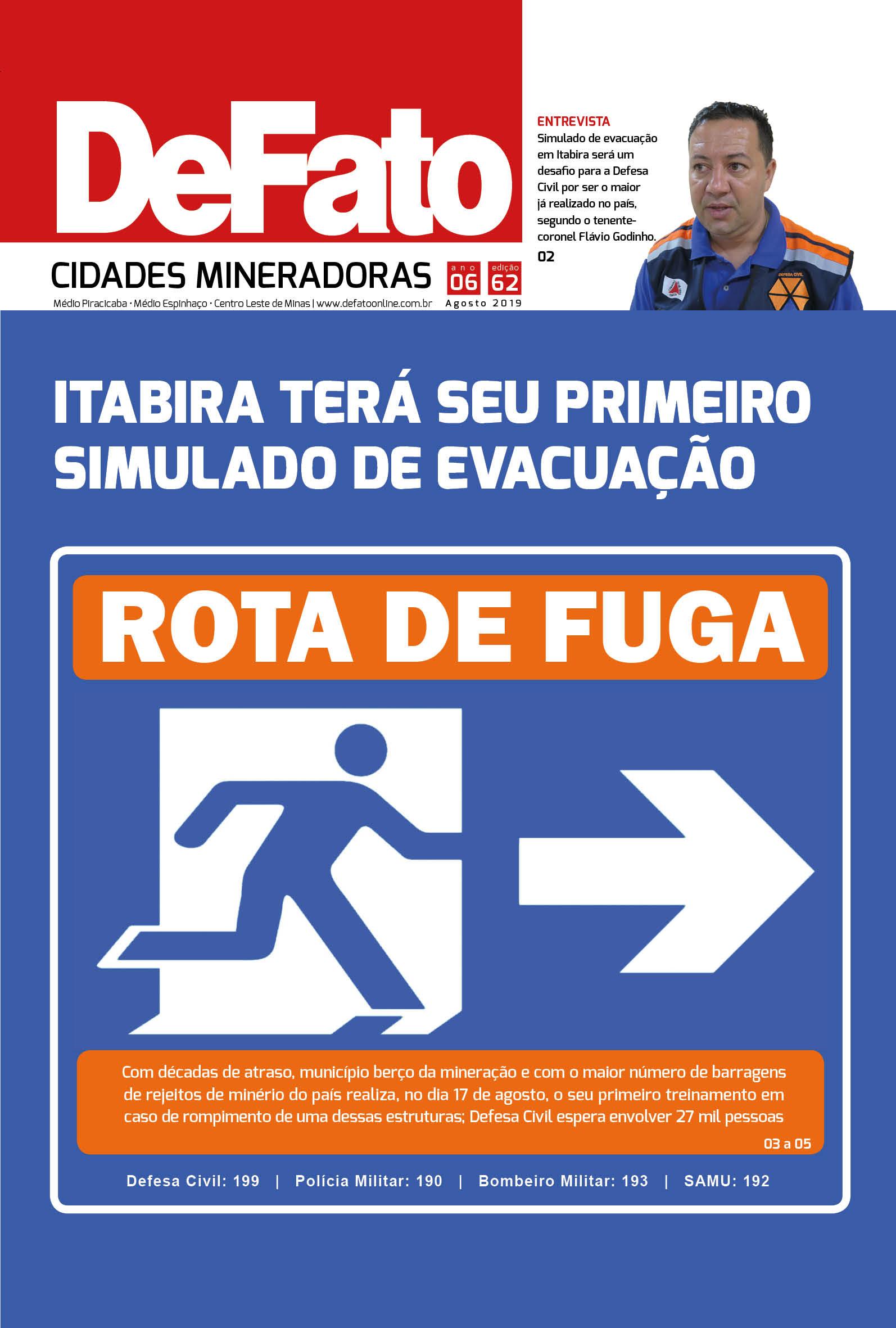 Jornal DeFato Cidades Mineradoras - Edição 62