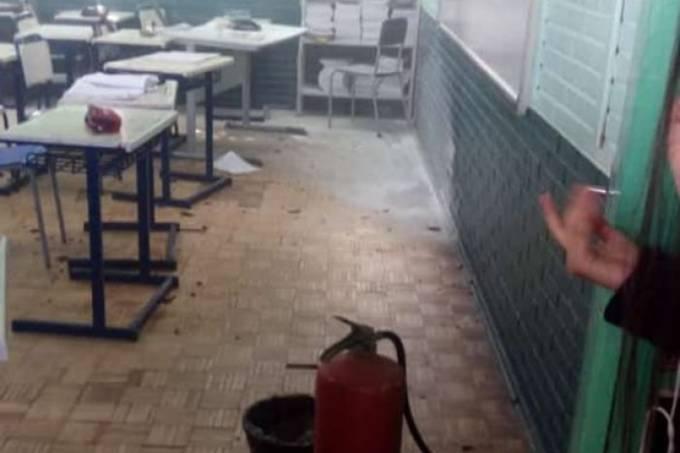 Ex-aluno invade escola com uma machadinha e ataca estudantes no RS