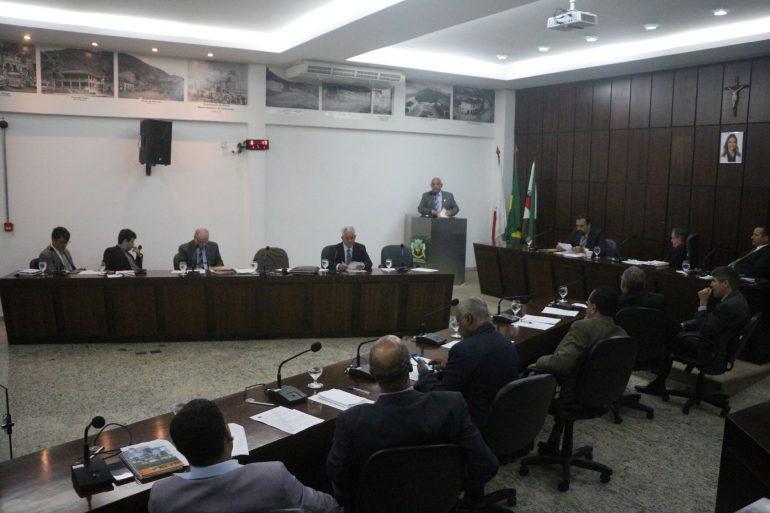 Seis projetos estão na pauta da reunião da Câmara de Monlevade