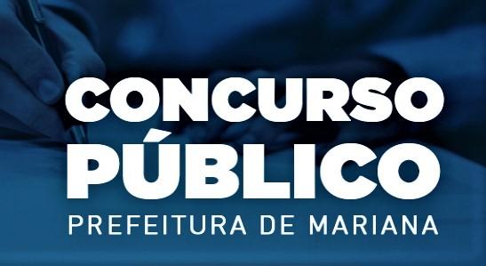 Prefeitura de Mariana abre concurso com 34 vagas