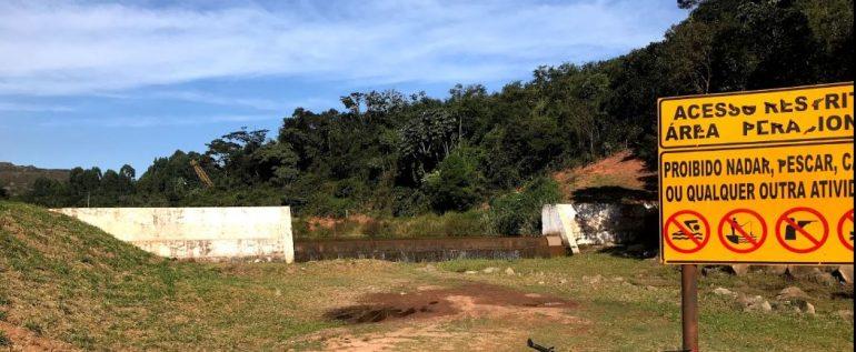Vale realiza manutenção programada no Dique Quinzinho, em Itabira