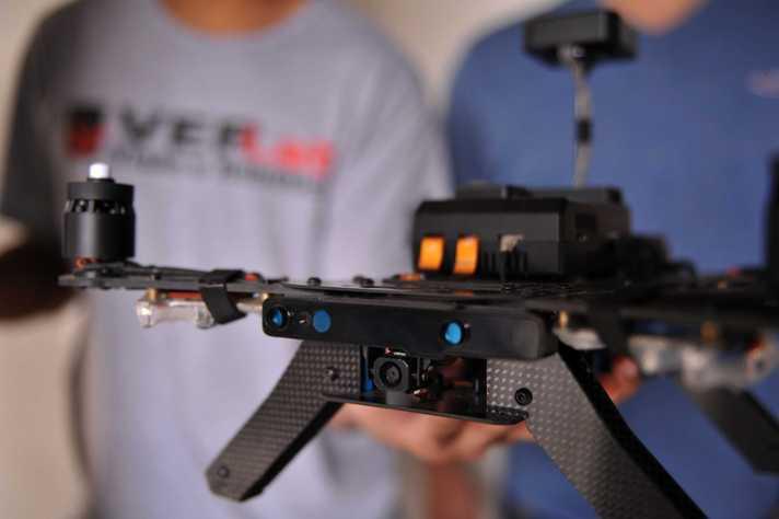 UFMG é única finalista da América Latina em concurso internacional de drones