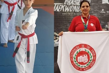 Taekwondo de Itabira representa Minas no Brasileiro