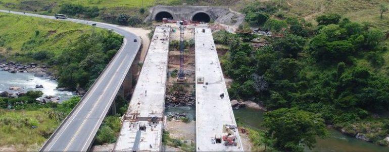 Dnit promete concluir ponte de 125 metros de extensão na BR-381 até setembro