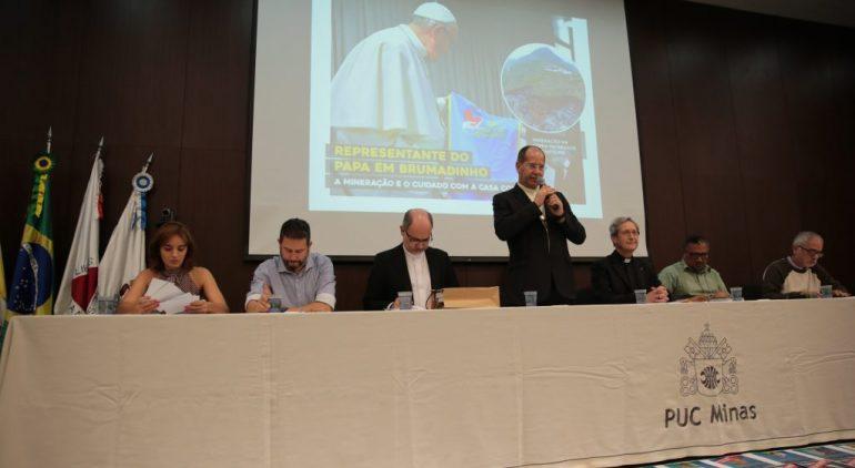 Representante do Papa Francisco visita Brumadinho e participa de seminário sobre a mineração