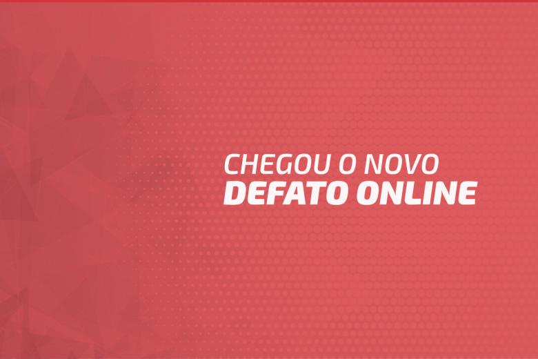 Bem-vindo ao novo DeFato Online!