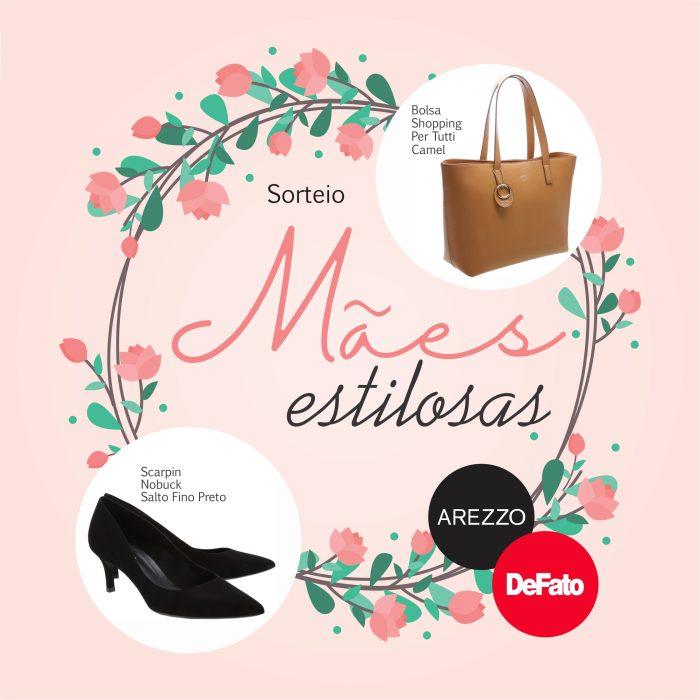 DeFato e Arezzo Itabira vão presentear internautas neste Dia das Mães !