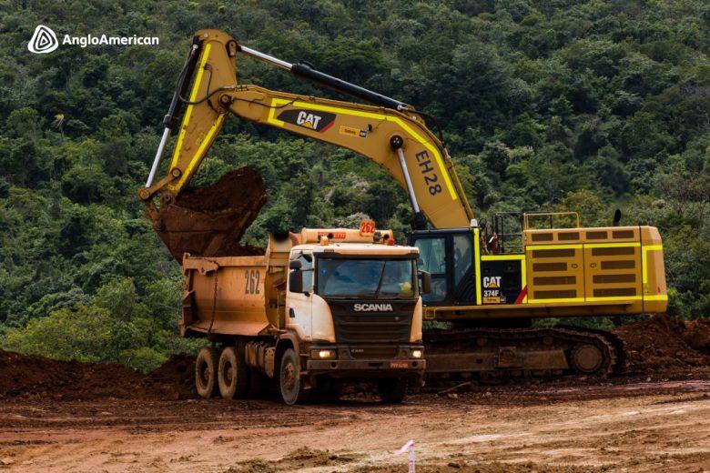 Anglo e Senai oferecem 90 vagas para curso gratuito de operador de equipamento de mina
