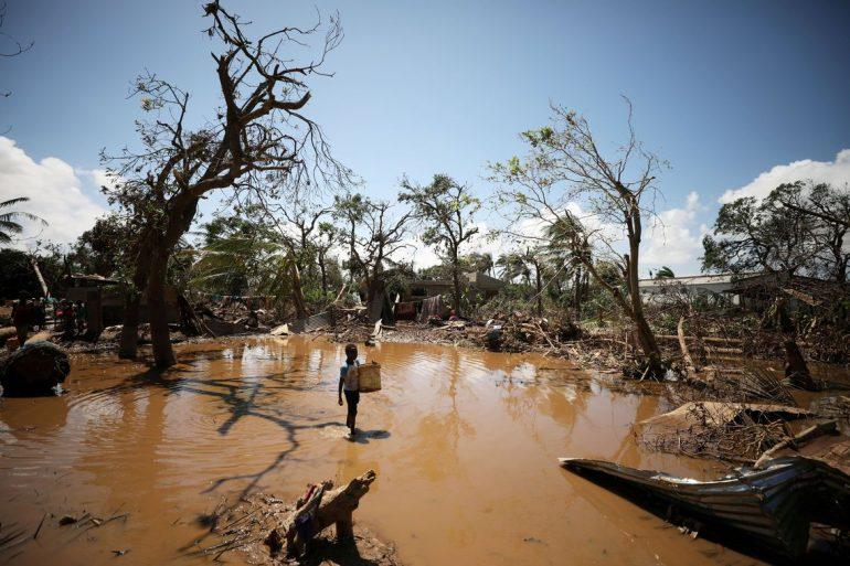 Desastre é maior que em Brumadinho, diz bombeiro brasileiro em Moçambique