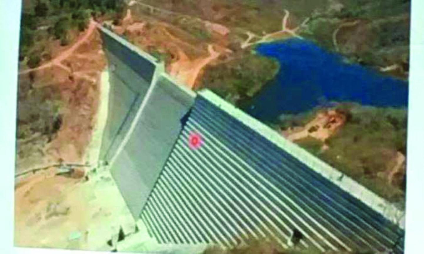 Imagem: Projeto de contenção de lama da barragem de Gongo Soco