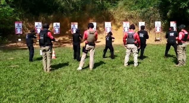 Policiais civis de Itabira treinam aperfeiçoamento do uso de pistolas e fuzil. Veja vídeo!