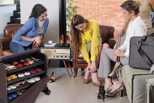 Loja de calçados contrata consultora de vendas em Itabira
