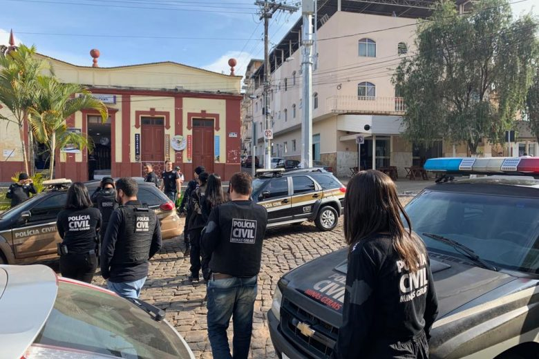 """Polícia Civil faz """"pente-fino"""" contra o crime em Santa Bárbara"""