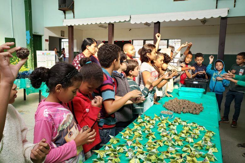 Crianças e adolescentes são o público-alvo das ações da Semana do Meio Ambiente em Catas Altas