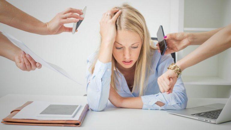 Apenas 10% da população mundial não sofre com estresse