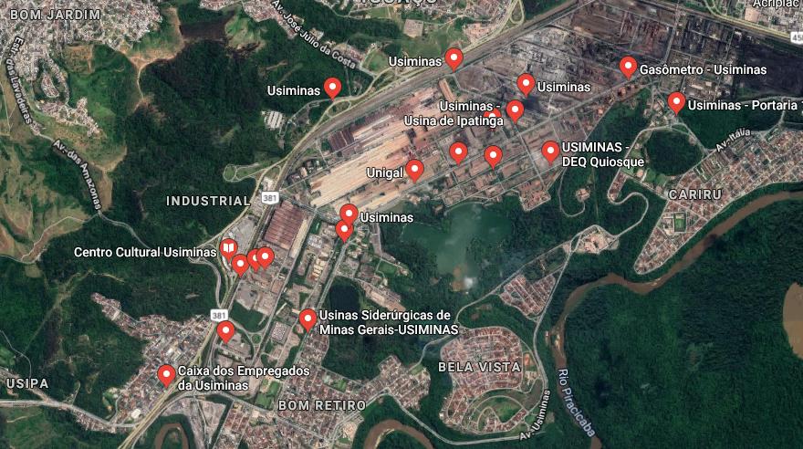 MP propõe acordo a Usiminas para redução de poluentes em Ipatinga