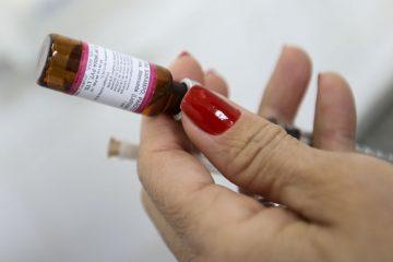 Dia D de vacinação para adultos contra sarampo será neste sábado