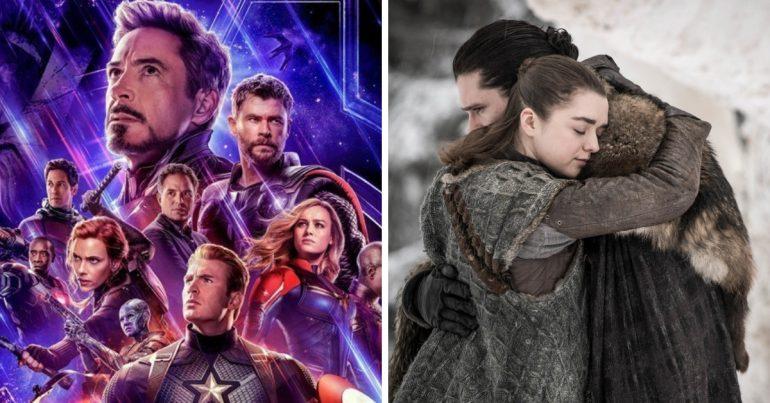 'Game of Thrones' e 'Vingadores: Ultimato' são favoritos ao MTV Movie & TV Awards