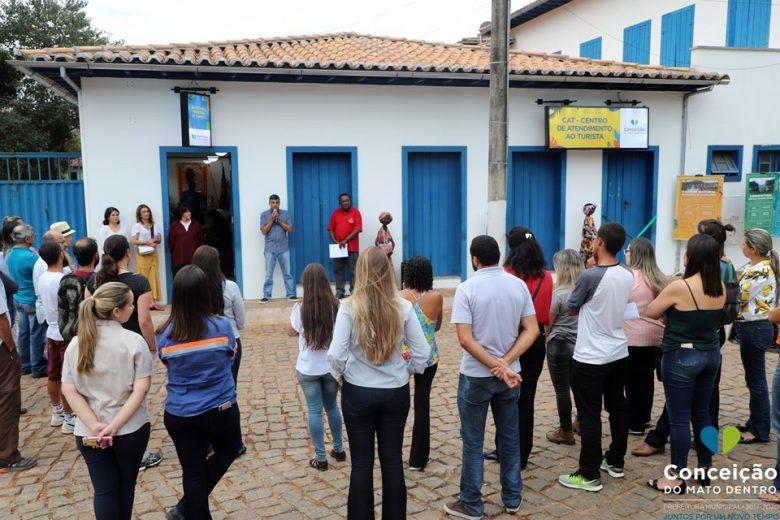 Conceição do Mato Dentro inaugura Centro de Referência ao Turista