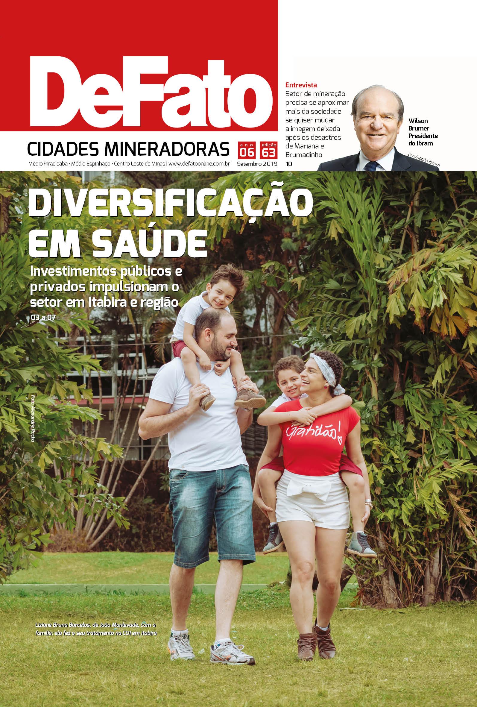 Jornal DeFato Cidades Mineradoras – Edição 63