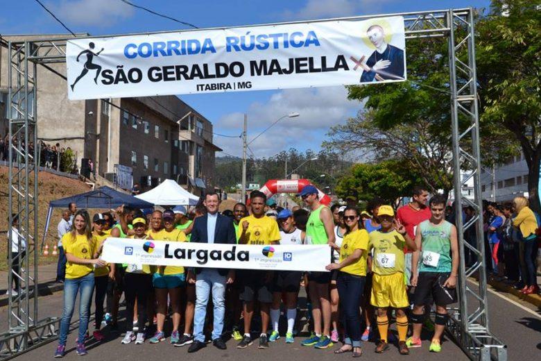 Corrida e Caminhada de São Geraldo Majela têm inscrições abertas