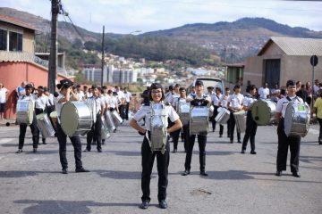 Colégio Tiradentes desfila por Itabira em comemoração ao 7 de setembro