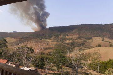 Conceição do Mato Dentro terá que resolver incêndios sozinha