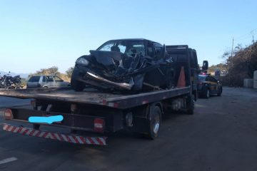 Acidente entre carro e caminhão deixa quatro feridos na BR-381