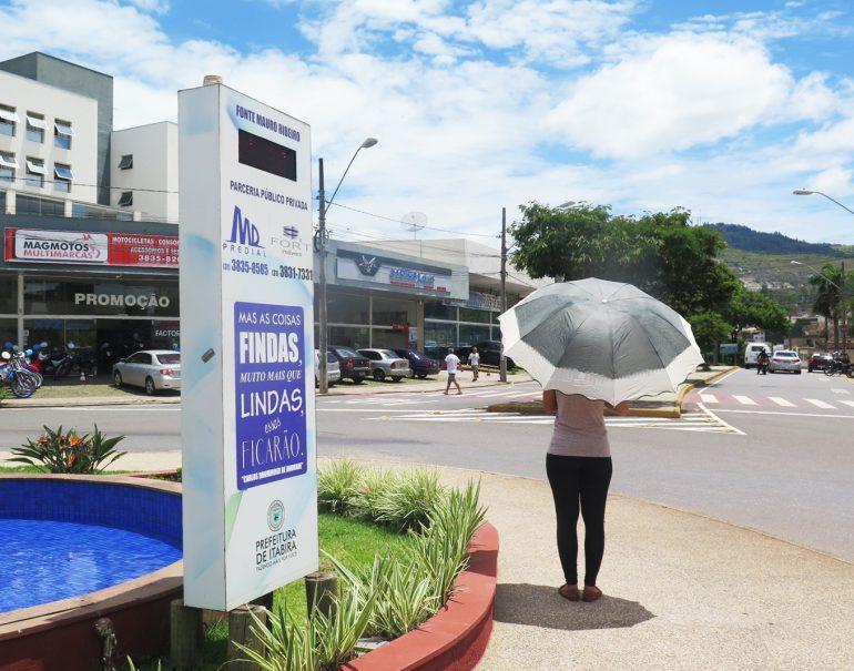 Inmet alerta para onda de calor em Itabira e cita risco à saúde
