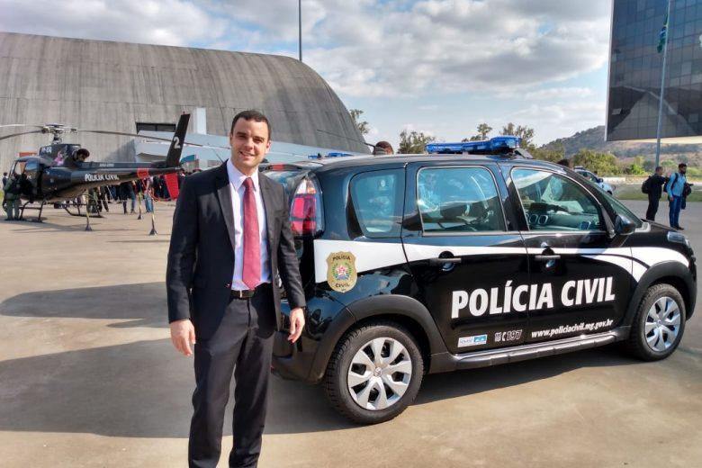 Delegacia Regional de Itabira recebe nova viatura policial