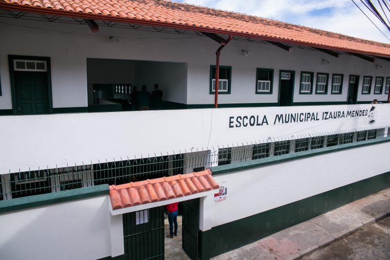 Escola de Ouro Preto é reformada após 13 anos sem receber melhorias