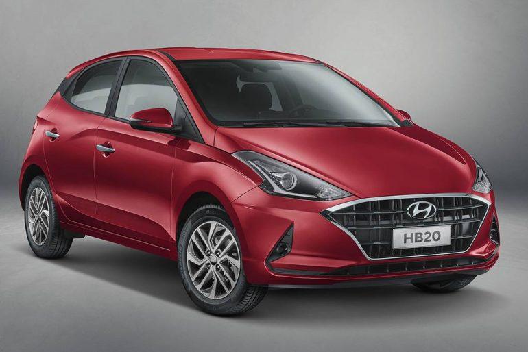 Hyundai revela o novo HB20 próximo de seu lançamento no Brasil