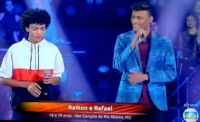 Ramon e Rafael estão na semifinal do The Voice Brasil