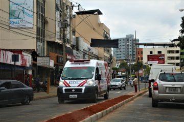 Homem cai do telhado em hospital de Rio Piracicaba