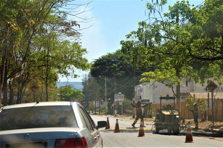 Sinalização horizontal é revitalizada em Monlevade