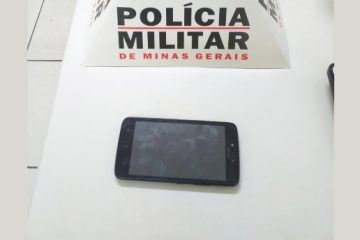 Rapaz é preso com celular roubado há um ano em Itabira